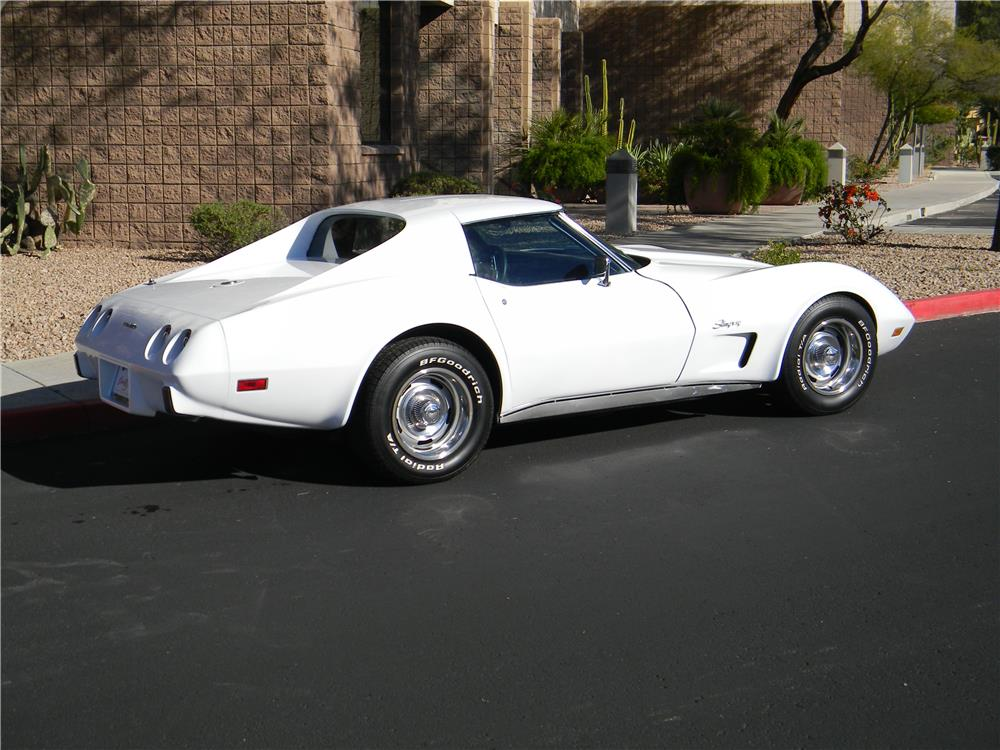 1976 CHEVROLET CORVETTE COUPE - Rear 3/4 - 182758