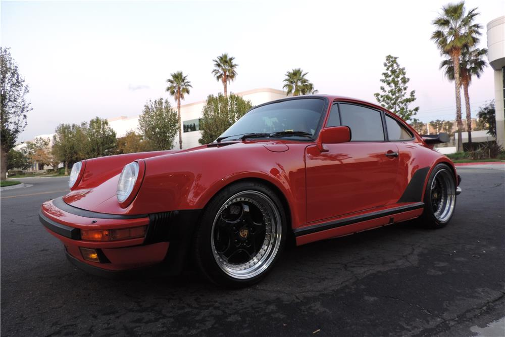1988 PORSCHE 911 TURBO 2 DOOR COUPE - Front 3/4 - 182761