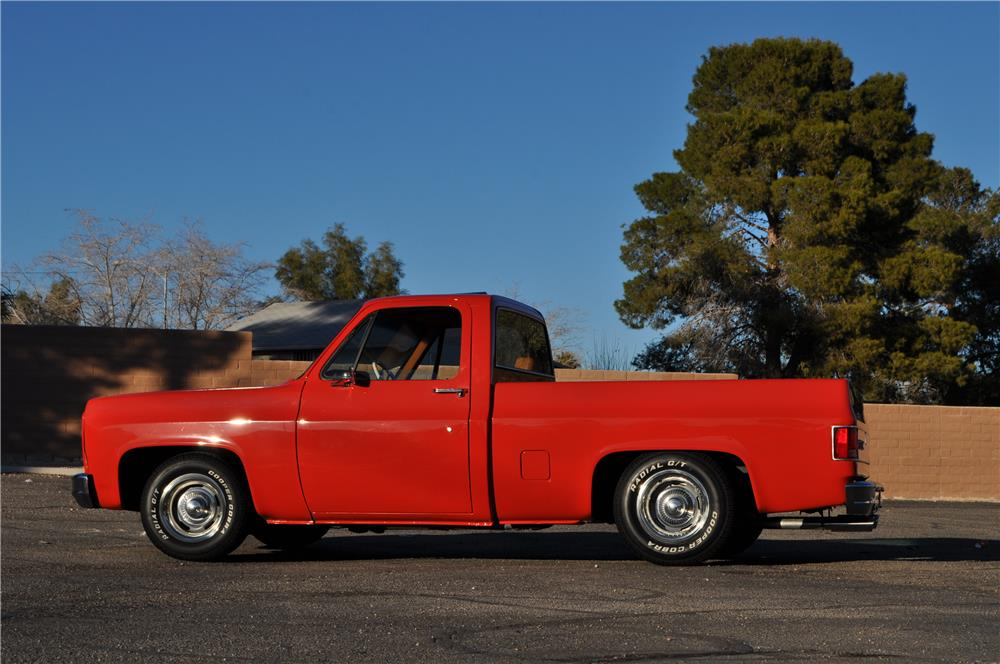 1979 GMC C1500 CUSTOM PICKUP - Side Profile - 182766
