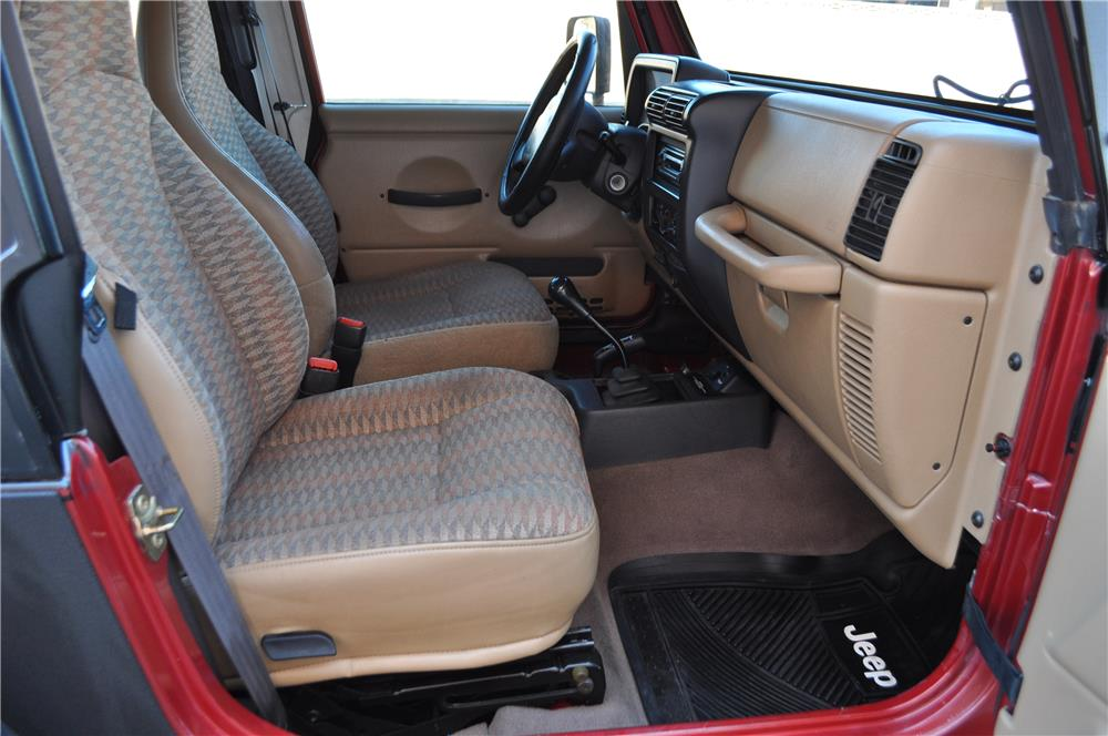 1999 JEEP WRANGLER  - Interior - 182767