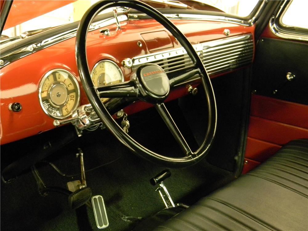 1951 CHEVROLET 5 WINDOW PICKUP - Interior - 182865