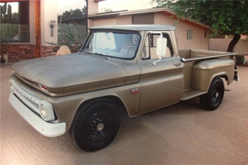 1966 CHEVROLET C-20 PICKUP - Front 3/4 - 182910