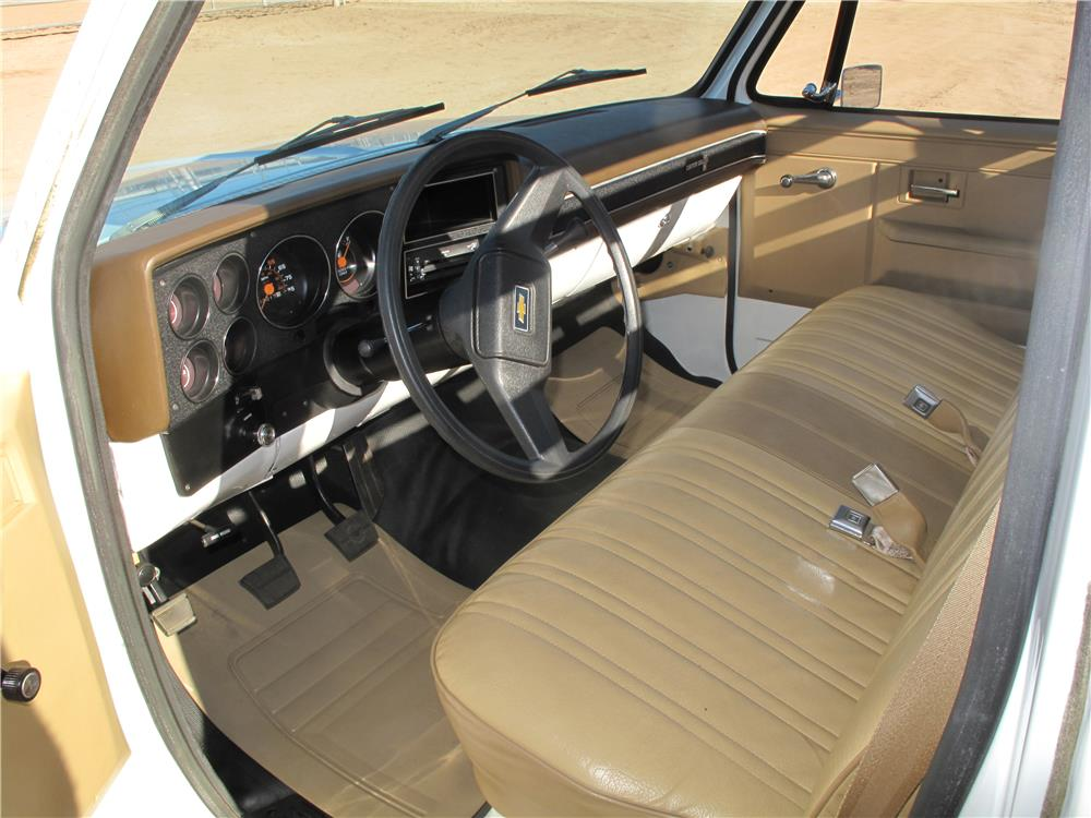 1982 CHEVROLET C-10 PICKUP - Interior - 183441
