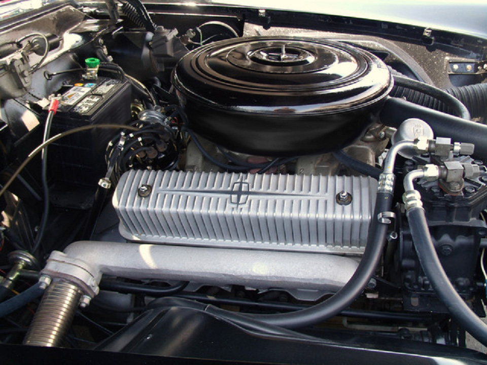 1956 LINCOLN CONTINENTAL MARK II COUPE - Engine - 183604