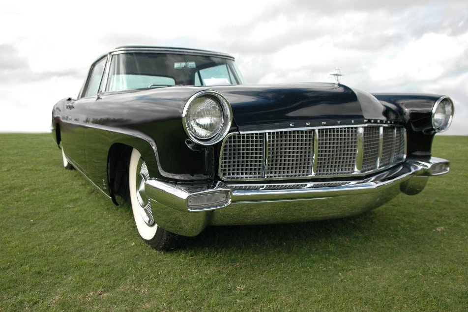 1956 LINCOLN CONTINENTAL MARK II COUPE - Front 3/4 - 183604