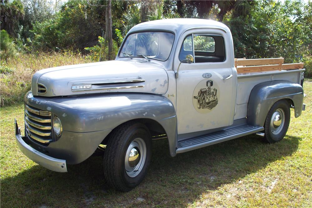 1948 FORD F-1 PICKUP - Front 3/4 - 183739
