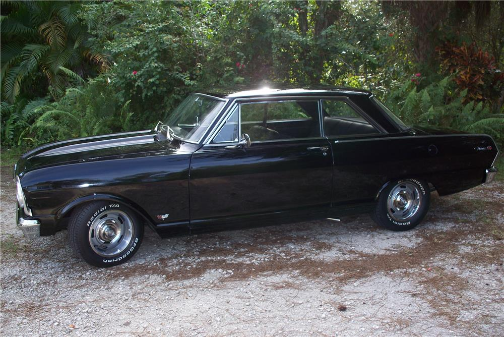 1965 CHEVROLET CHEVY II NOVA SS CUSTOM - Side Profile - 183740