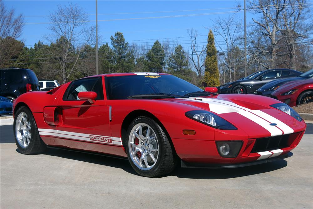 2006 FORD GT - Side Profile - 183761