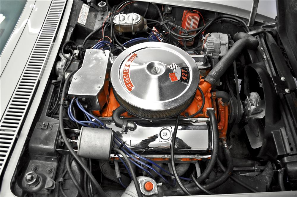 1969 CHEVROLET CORVETTE - Engine - 183773