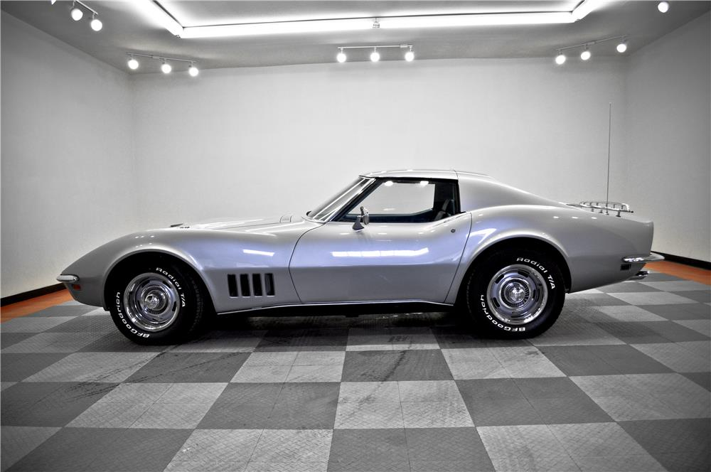 1969 CHEVROLET CORVETTE - Side Profile - 183773