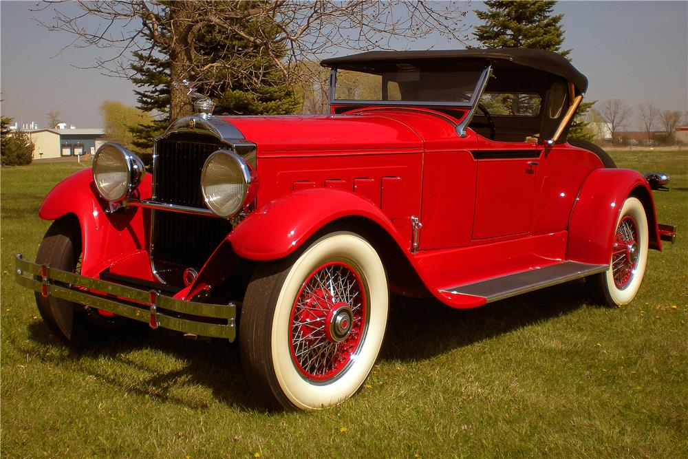 1929 PACKARD 626 RUNABOUT ROADSTER - Front 3/4 - 183794