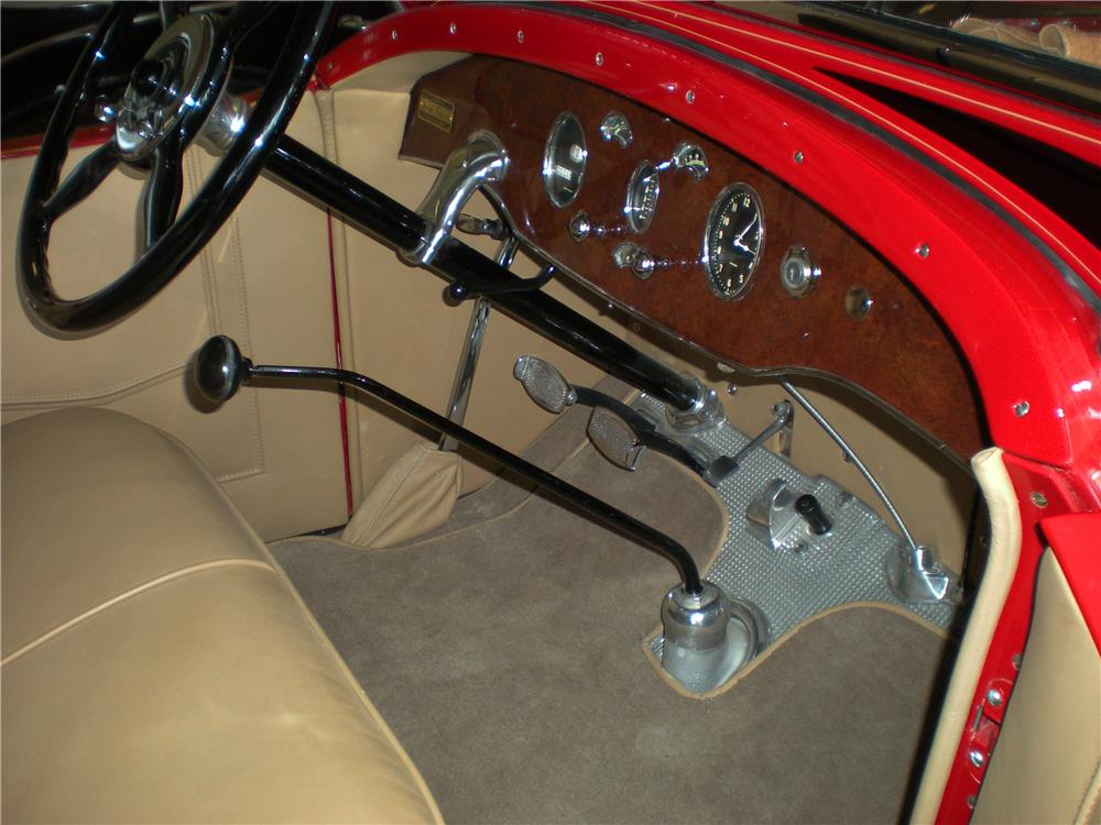 1929 PACKARD 626 RUNABOUT ROADSTER - Interior - 183794