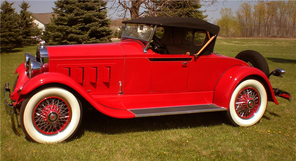 1929 PACKARD 626 RUNABOUT ROADSTER - Side Profile - 183794