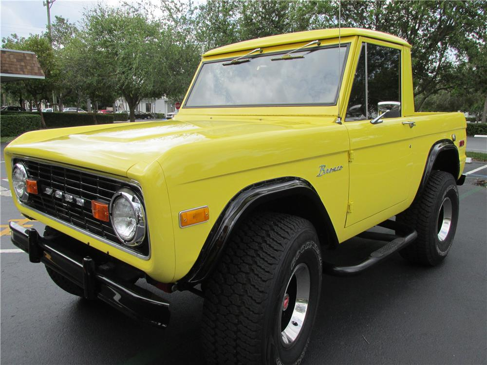 1973 FORD BRONCO PICKUP - Front 3/4 - 183799