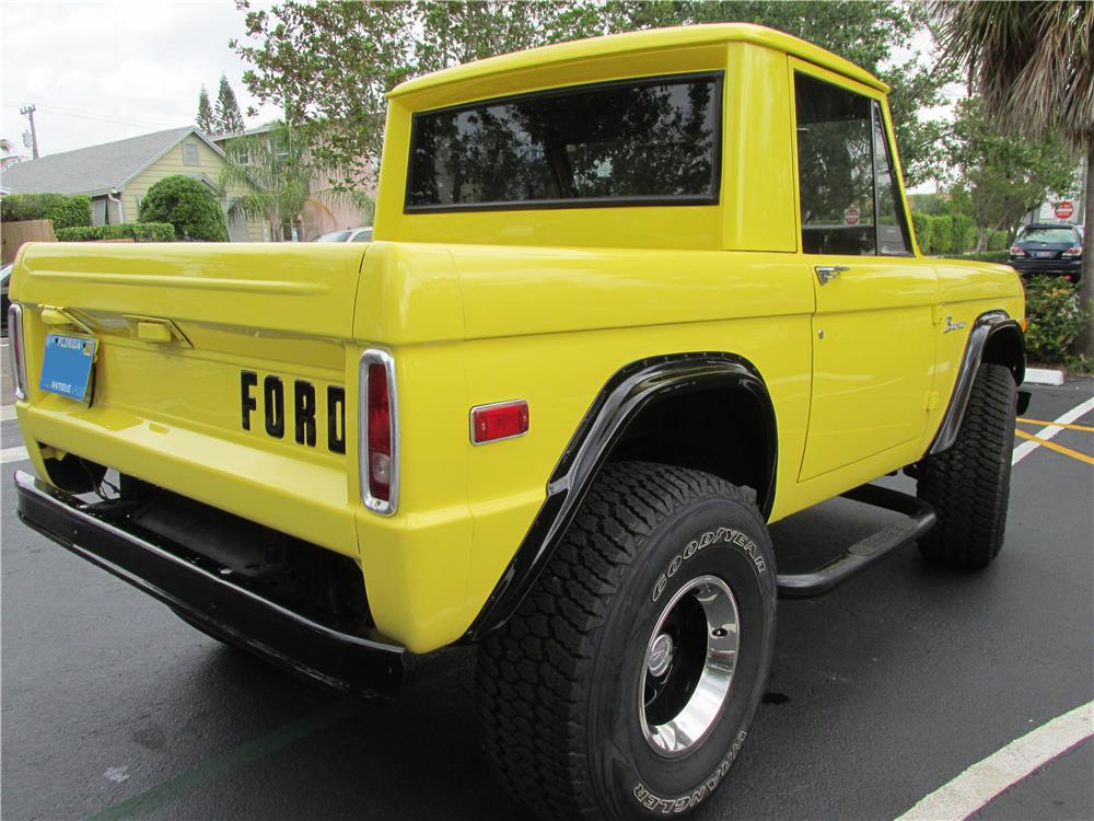 1973 FORD BRONCO PICKUP - Rear 3/4 - 183799