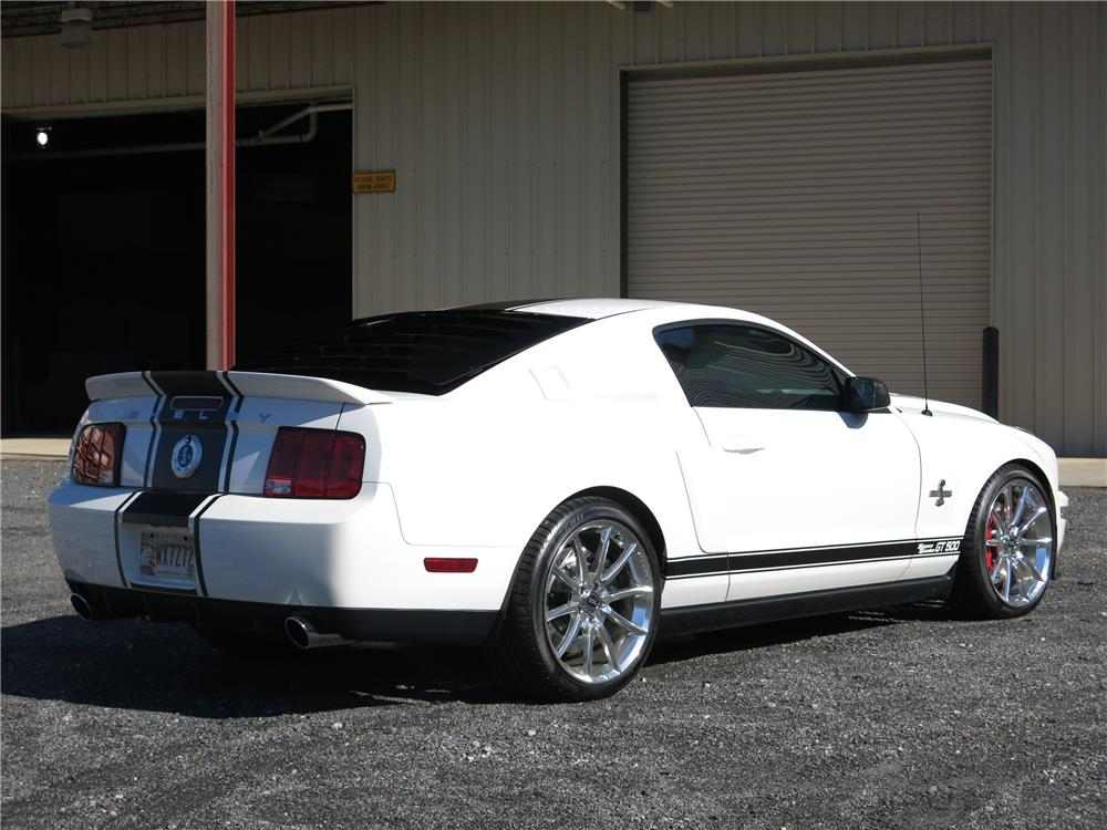 2007 SHELBY GT500 SUPER SNAKE - Rear 3/4 - 183811