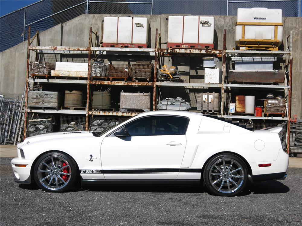 2007 SHELBY GT500 SUPER SNAKE - Side Profile - 183811