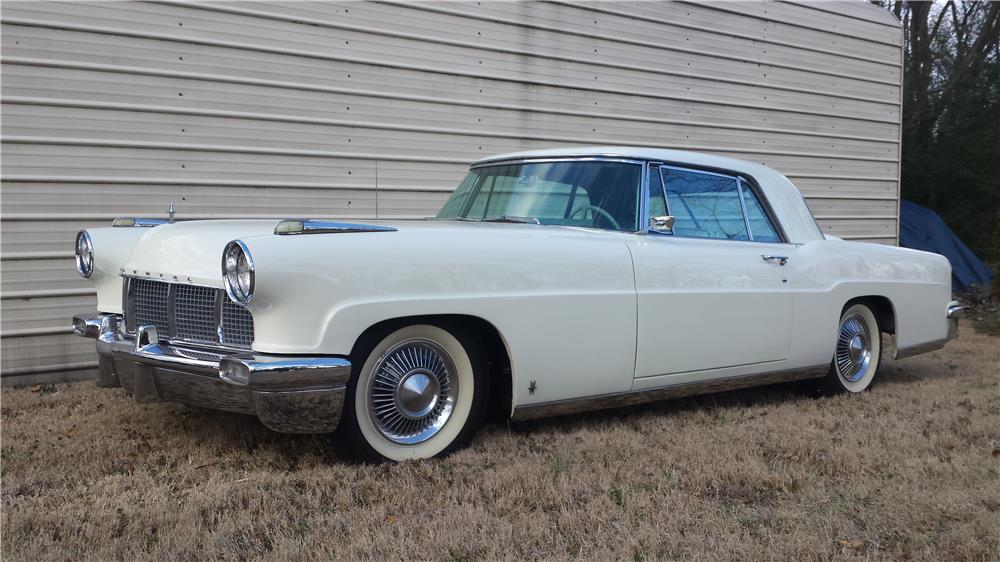 1956 LINCOLN CONTINENTAL MARK II - Front 3/4 - 183823