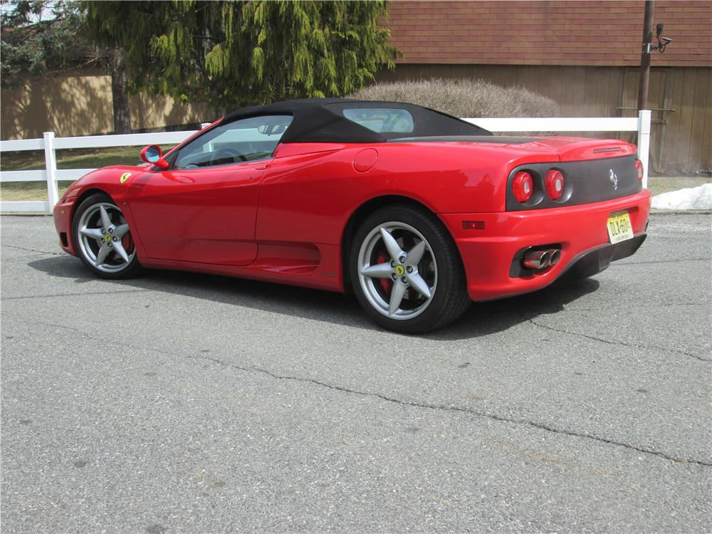 2004 FERRARI 360 SPIDER - Side Profile - 183842