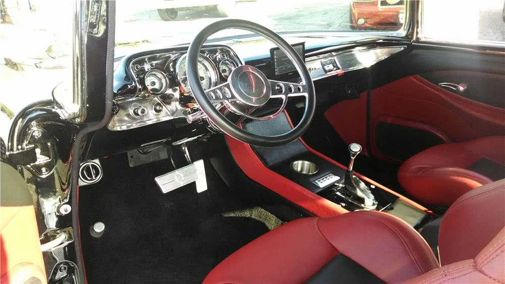 1957 CHEVROLET 210 CUSTOM - Interior - 183859