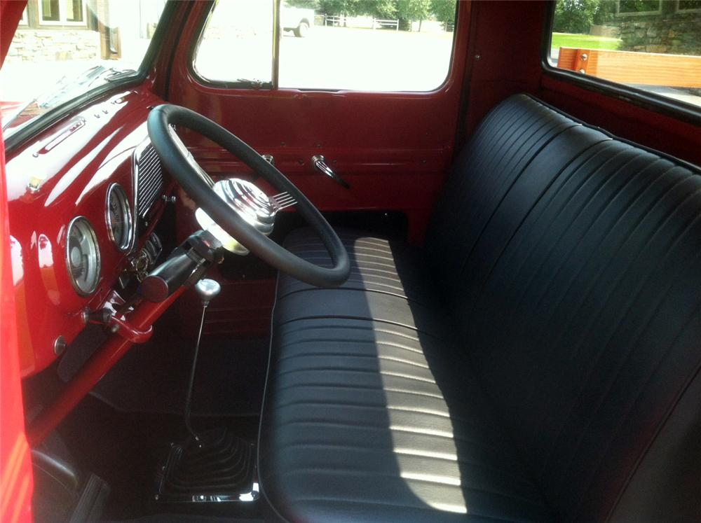 1952 FORD F-1 CUSTOM TRUCK - Interior - 183867