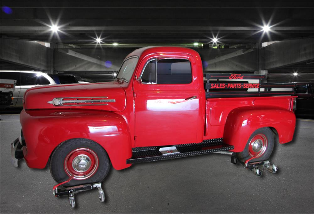 1952 FORD F-1 CUSTOM TRUCK - Side Profile - 183867
