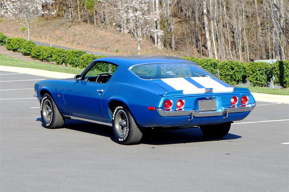 1970 CHEVROLET CAMARO Z/28 - Rear 3/4 - 183884