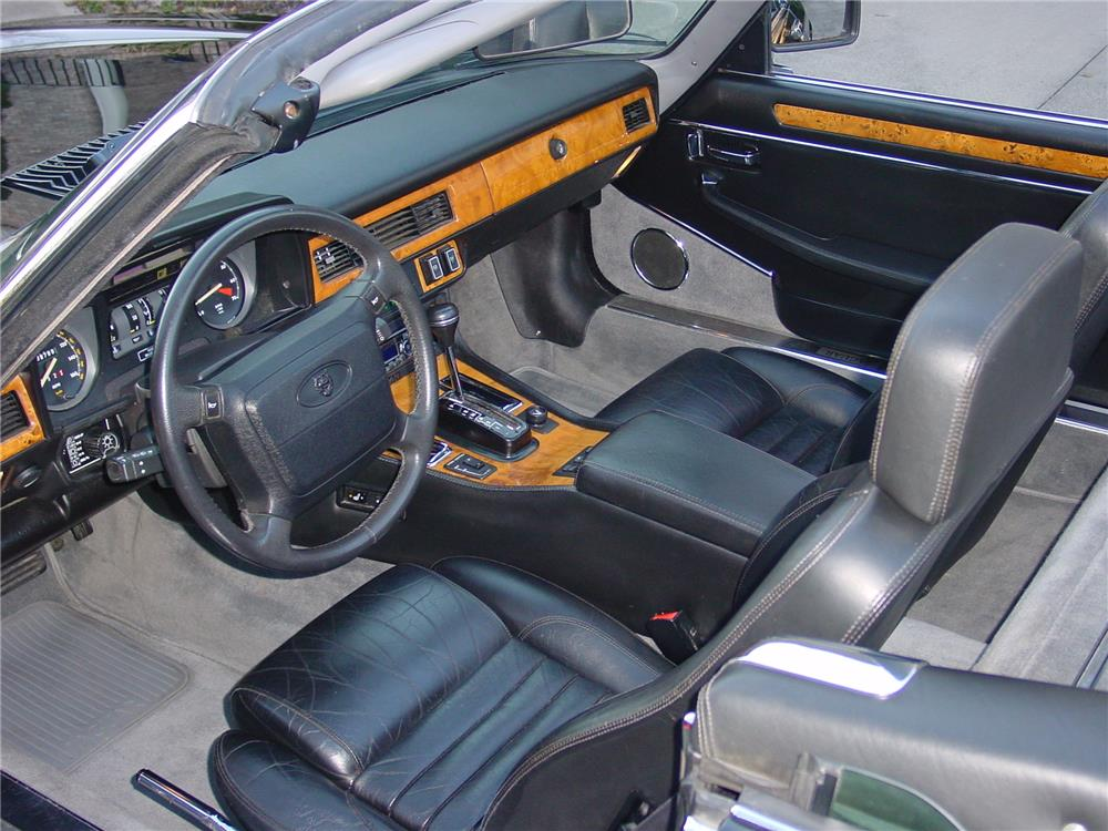 1991 JAGUAR XJS V12 CONVERTIBLE - Interior - 183885