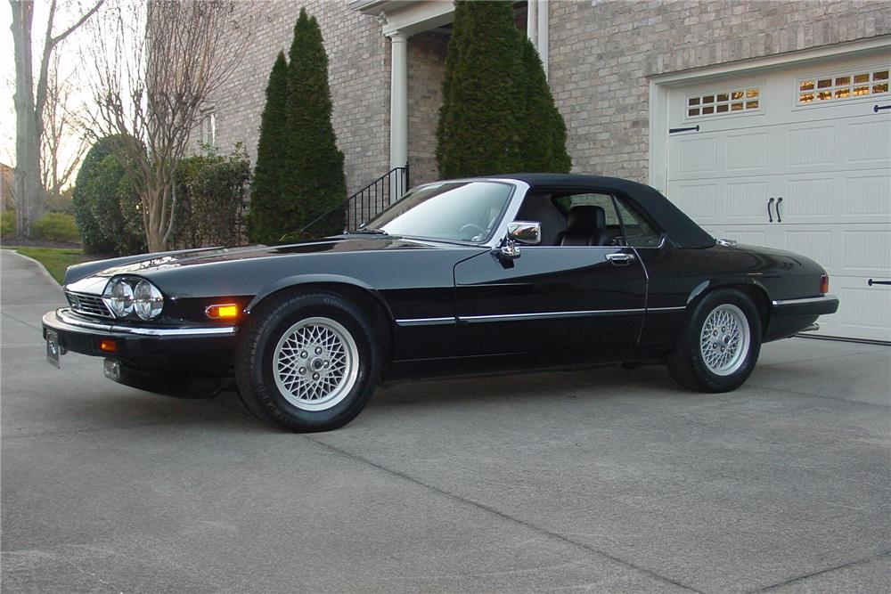 1991 JAGUAR XJS V12 CONVERTIBLE - Side Profile - 183885