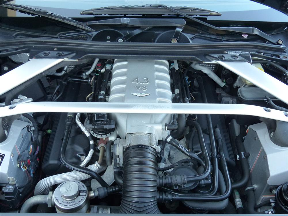 2008 ASTON MARTIN VANTAGE CONVERTIBLE - Engine - 183890