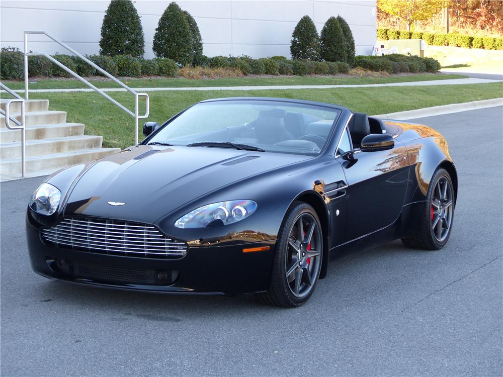 2008 aston martin vantage convertible 183890. Black Bedroom Furniture Sets. Home Design Ideas