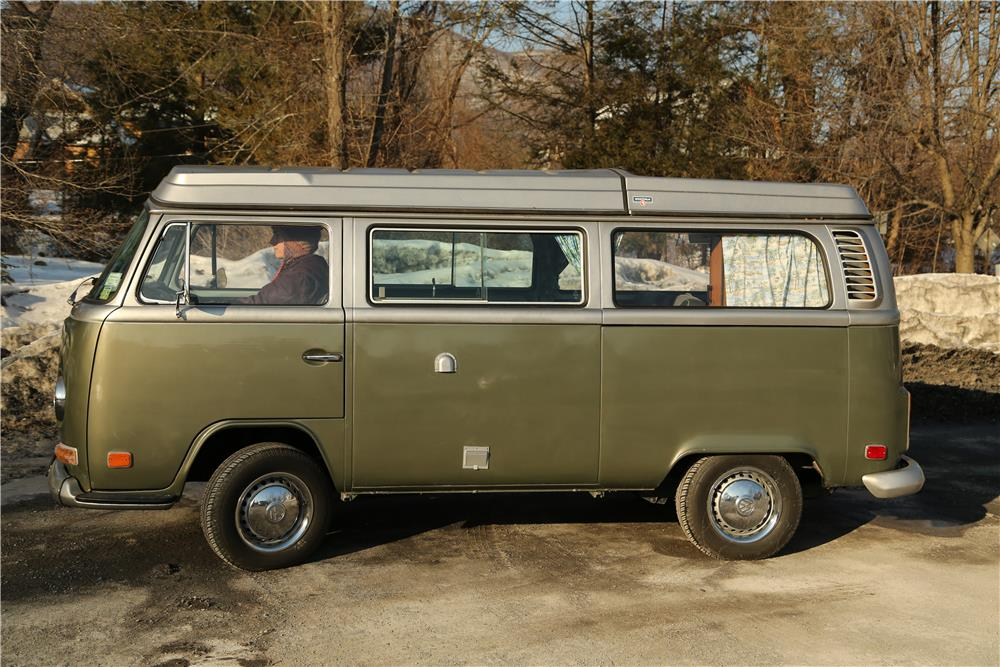 1972 VOLKSWAGEN WESTFALIA POP-UP CAMPER - Side Profile - 183899