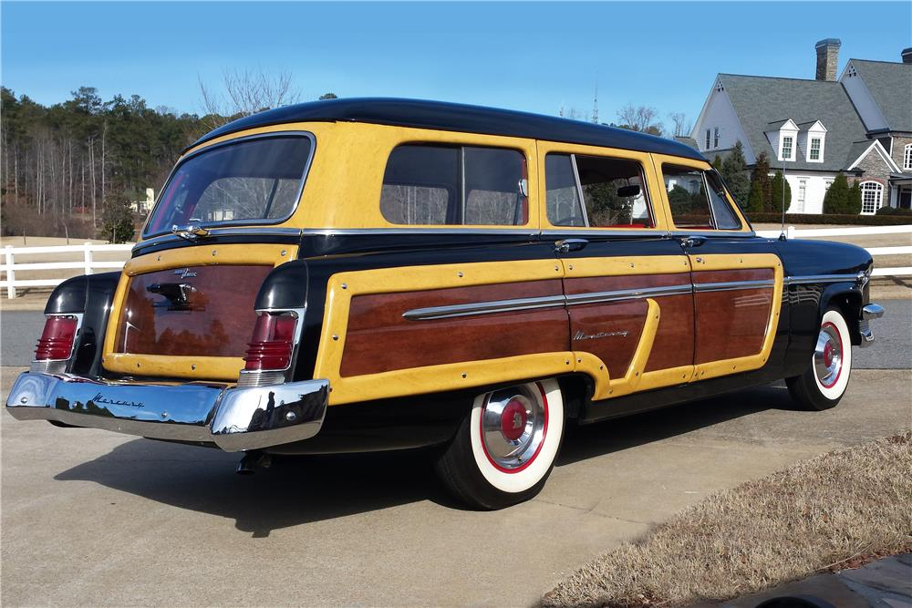 1954 MERCURY MONTEREY WOODY WAGON - Rear 3/4 - 183908