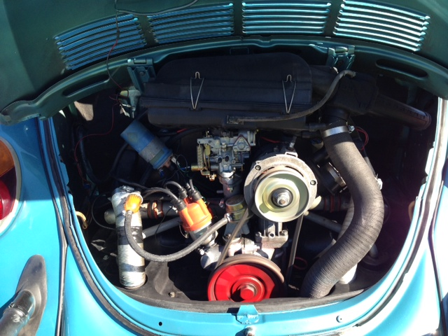 1979 VOLKSWAGEN SUPER BEETLE CONVERTIBLE - Engine - 183915