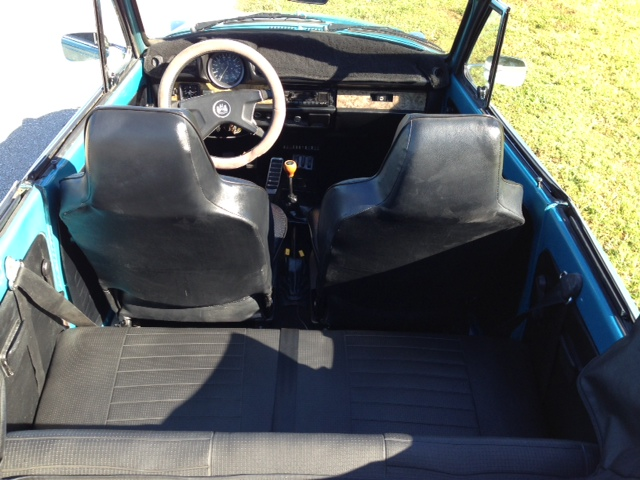 1979 VOLKSWAGEN SUPER BEETLE CONVERTIBLE - Interior - 183915