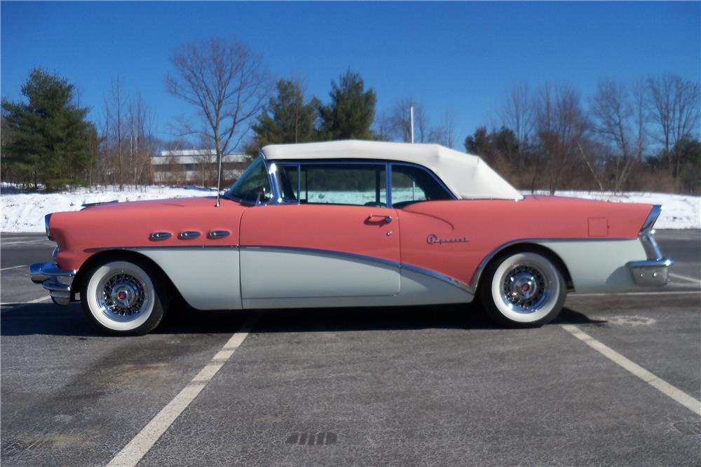 1956 BUICK SPECIAL CONVERTIBLE - Side Profile - 183921