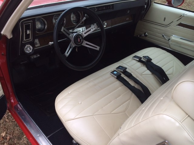 1970 OLDSMOBILE 442 W30 - Interior - 183946