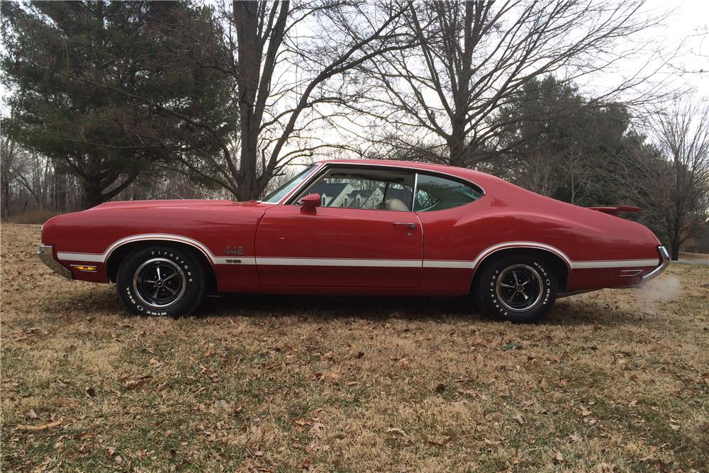 1970 OLDSMOBILE 442 W30 - Side Profile - 183946