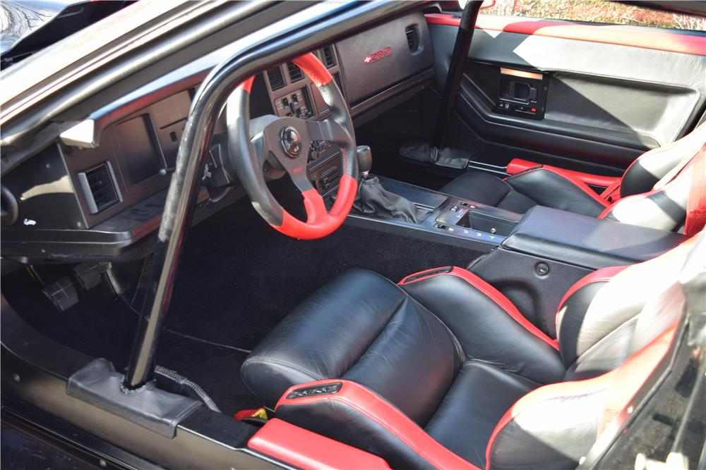 1985 chevrolet corvette custom 183950. Black Bedroom Furniture Sets. Home Design Ideas