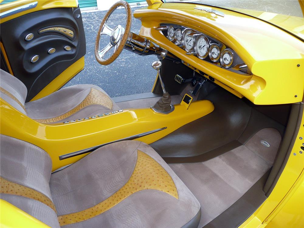 """1941 WILLYS """"SWOOPSTER"""" CUSTOM CONVERTIBLE - Interior - 183959"""