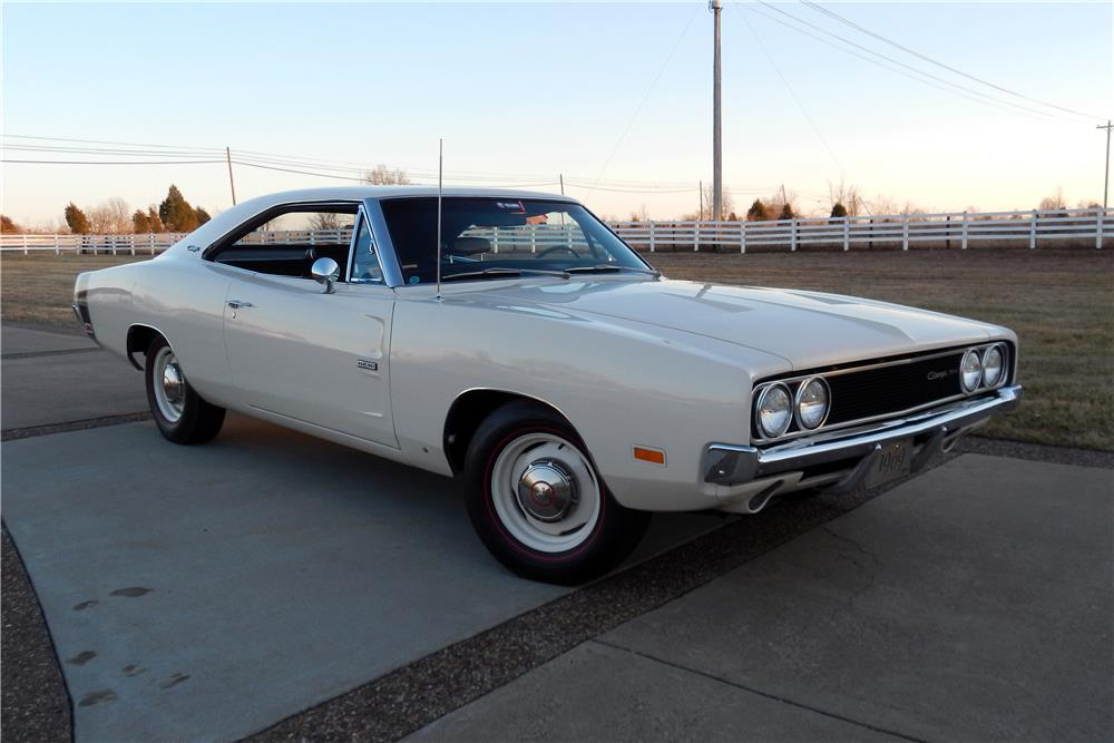 1969 DODGE HEMI CHARGER 500  - Front 3/4 - 183962