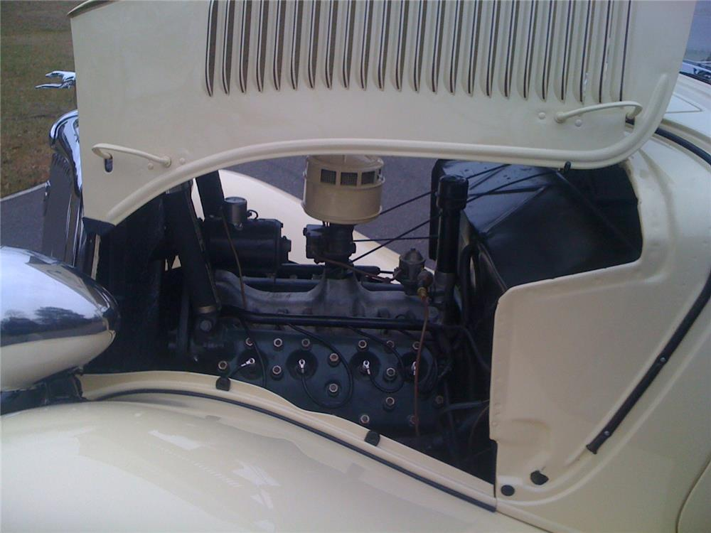 1934 FORD CABRIOLET - Engine - 183963