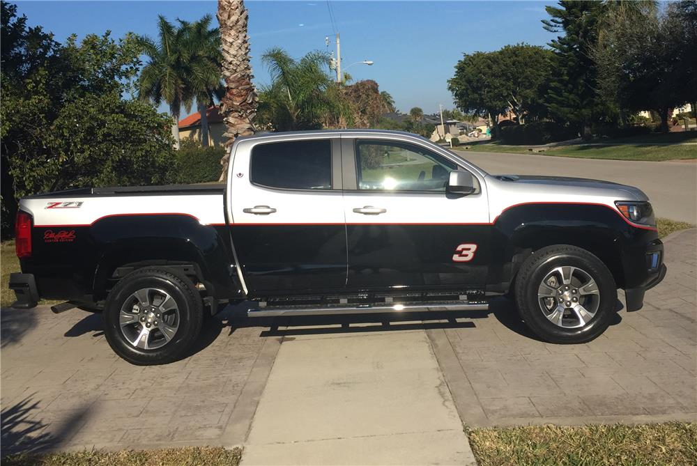 2015 CHEVROLET COLORADO PICKUP - Side Profile - 183964