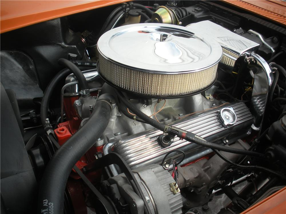 1972 CHEVROLET CORVETTE - Engine - 183966