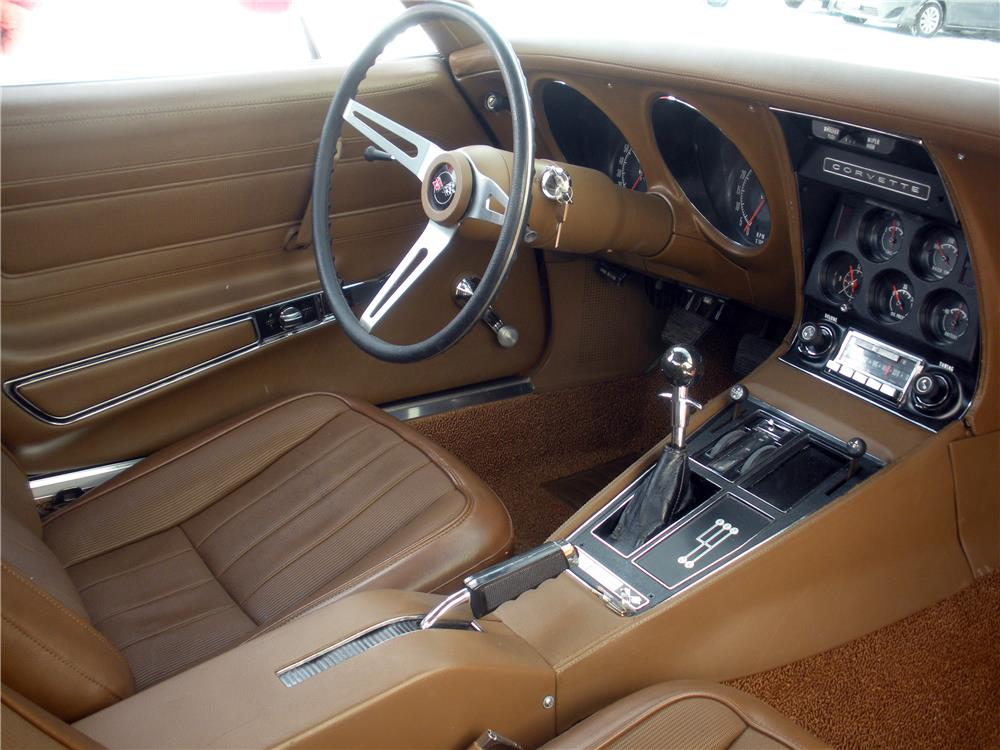 1972 CHEVROLET CORVETTE - Interior - 183966