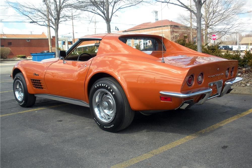 1972 CHEVROLET CORVETTE - Rear 3/4 - 183966