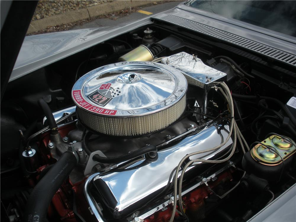 1968 CHEVROLET CORVETTE - Engine - 183967
