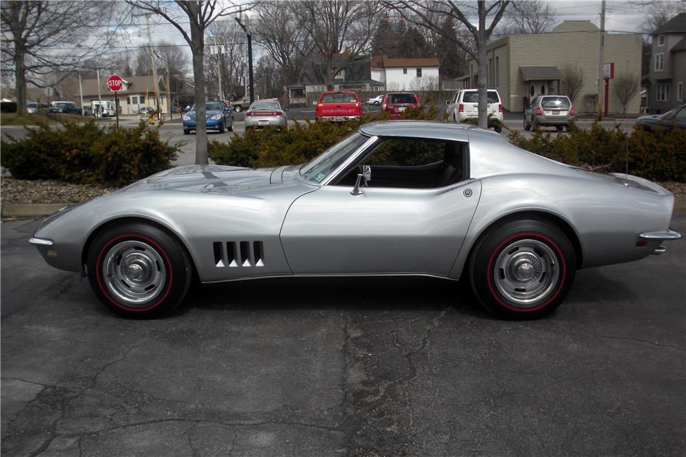 1968 CHEVROLET CORVETTE - Side Profile - 183967