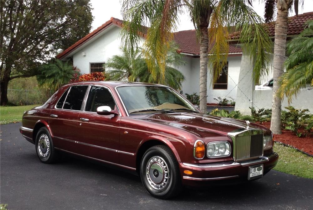 1999 ROLLS-ROYCE SILVER SERAPH 4 DOOR SEDAN - Rear 3/4 - 183974