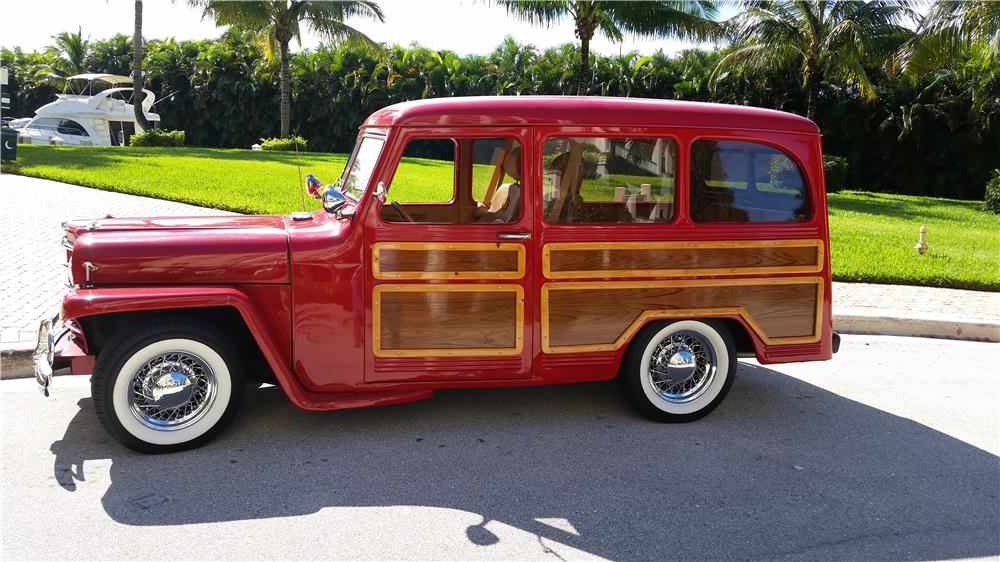 1952 WILLYS CUSTOM WAGON - Side Profile - 183986